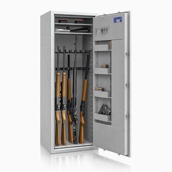 Waffentresor St. Gallen ECB*S Kl. 1 n. EN 1143-1 / 16 Waffenhalter