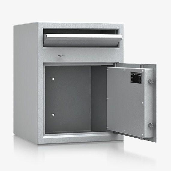 Deposittresor Einwurftresor Peine Sicherheitstufe S 1 u. bauartähnlich Stufe A