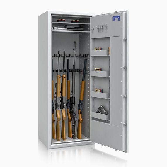 Waffentresor St. Gallen ECB*S Kl. 1 n. EN 1143-1 / 18 Waffenhalter