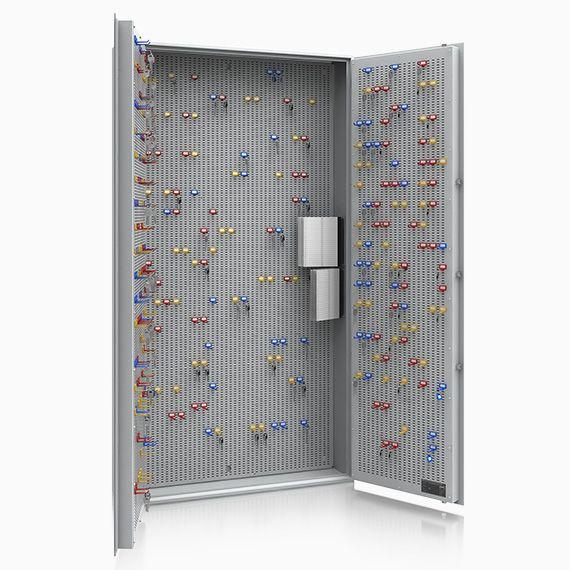 13108 Leipzig 2 flügelige Tür Schlüsseltresor bis 1000 Haken Sicherheitsstufe A + S1