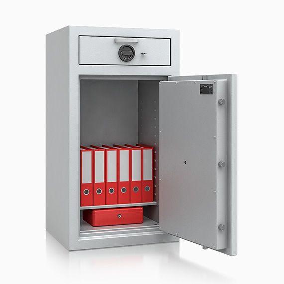 Deposittresor Einwurftresor Flensburg Sicherheitstufe D-I nach Euro-Norm EN 1143-2
