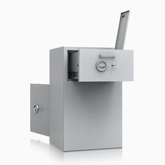 Deposittresor Einwurftresor rückseitig St. Gallen Sicherheitstufe D-I nach Euro-Norm EN 1143-2