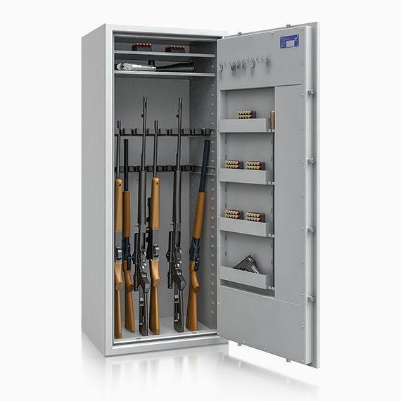 Waffentresor St. Gallen ECB*S Kl. 1 n. EN 1143-1 / 20 Waffenhalter